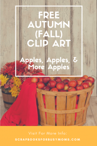 free autumn apples clip art